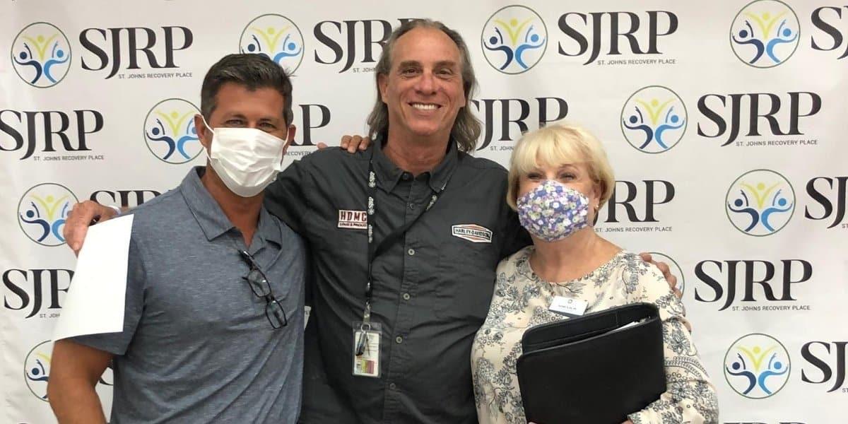 vivitrol treatment team at St. John's Addiction Recovery Center